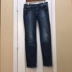 """Miss Me """"straight"""" Jean size 33"""